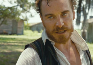 "No saint: Michael Fassbender as slaver Edwin Epps in ""12 Years a Slave"""